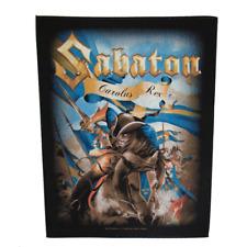 Sabaton Official Backpatch CAROLUS REX PARCHE DE ESPALDA Sueco HEAVY POWER METAL