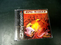 RPG Maker Complete PS1 Playstation 1 Black Label Tested & Working