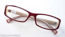 Max Mara Damenbrille schmale Glasform Gestell großer Decorstein Brillen Grösse S