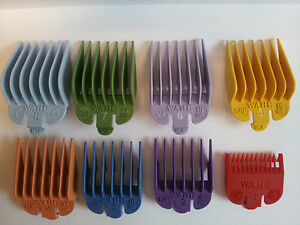 Wahl Colour Clipper Attachment Guard Comb No: 1 2 3 4 5 6 7 8