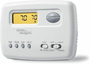 Emerson 1F72-151 5-2 Day Programmable Thermostat for Heat Pump Systems
