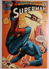 SUPERMAN #234 (DC 1971) VF+ Neal Adams Cover Art! HIGH GRADE!