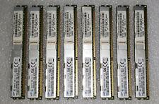 Genuine Ibm Lenovo 256Gb Ram Kit 8x 32Gb Vlp Hx5 Hs23 Pc3-10600R 00D5010 00D5008