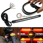 33-SMD Red Universal LED Bar For Brake Tail Light & Left/Right Turn Signal Lamp
