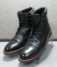 271231 PFBT40 Men's Boots Size 10.5 M Black Leather 1850 Series Johnston Murphy