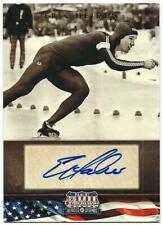 Panini Americana 2012. Eric Heiden Autograph Card 258/269 Speed Skating