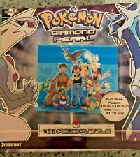 Pokemon 100 Piece Diamond & Pearl Jigsaw Puzzle Brand New