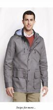 Lands End Casual Cotton Jacket Colour Wet Cement Size M-L RRP£100
