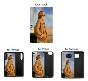 Personalised Custom Photo Printed Personalized Rubber Phone Case