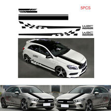 5Pcs Vinyl Waterproof Decals Stickers For Car 2 Side / Hood/Rearview Mirror