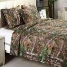 Bed Comforter King Xtra Green Geometric Camouflage Bedroom Linen Machine Wash