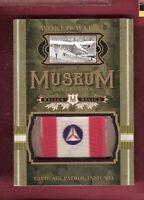 WWII WORLD WAR CIVIL AIR PATROL INSIGNIA RELIC CARD GOODWIN CHAMPION MUSEUM