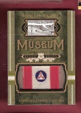 WWII WORLD WAR CIVIL AIR PATROL INSIGNIA RELIC CARD GOODWIN CHAMPION MUSEUM