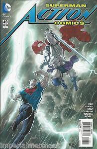 Superman Action Comics 49 Cover A Aaron Kuder First Print 2016 Pak Syaf Hanna