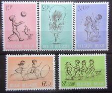 Belgium 1966 Child Welfare Set. MNH.