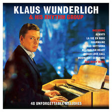 Klaus Wunderlich & His Rhythm Group 48 UNFORGETTABLE MELODIES Music NEW 2 CD