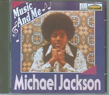 Michael JACKSON CD Music and Me/rare Carrousel pressage