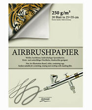 HARDER & STEENBECK - AIRBRUSH PAPER No4 350x500mm 20 SHEETS