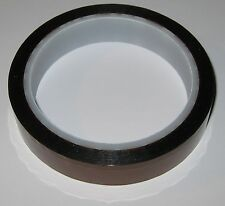 """High Temperature Polyimide Film Kapton Tape - 3/4"""" Wide - 1 Mil Thick Film  .001"""