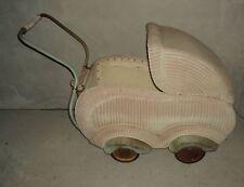 alter Kinderwagen Korbkinderwagen 50er Jahre kein Puppenwagen