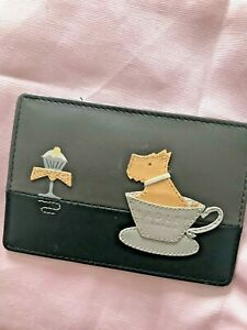 Radley card holder with dust bag.