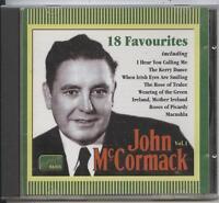 John McCormack -  Volume. 1 (18 Favourites) (CD Album)