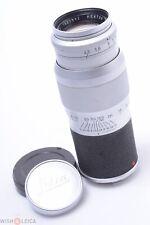 ✅ LEICA M 135MM 4.5 HEKTOR RANGE FINDER LENS W/ ORIGINAL CAPS