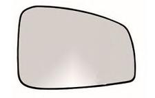 RENAULT LAGUNA III Spiegelglas Außenspiegel Rechts Heizbar Konvex Chrom