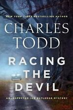Racing the Devil by Charles Todd (2017, Hardcover) Ian Rutledge Mystery 1st ed.