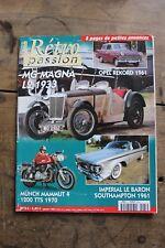 Rétro passion - N°135 - 2002 - MG Magna 1933 - Baron Southampton Münch Mammut