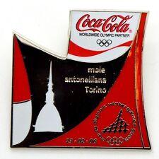 Pin Spilla Olimpiadi Torino 2006 - Coca-Cola Puzzle Bottiglia N