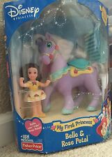 """My First Princess """"Belle & Rose Petal"""" From Fisher Price"""