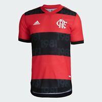 Flamengo Home Soccer Football Player Jersey Shirt - 2021 2022 Adidas Brazil