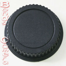 Camera Rear Lens Cap Cover for Canon EOS EF mount Auto Focus EF EF-S Lens black