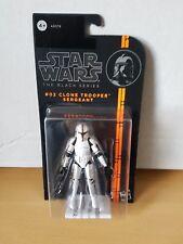 Star Wars Black Series 3.75 Clone Trooper Sergeant #02 Action Figure MOC New