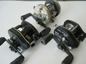 Lot of (3) Daiwa Level Wind reels... Millionaire II, Procaster PMA 10S and PS 10