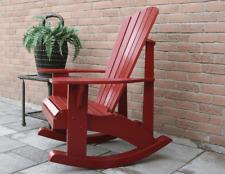 Plannen voor Adirondack Rocking Chair