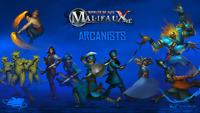 WYRD MINIATURES - MALIFAUX - ARCANISTS - VARIOUS CHARACTERS
