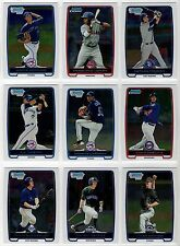 2012 Bowman Chrome Prospects You Pick the Player Finish Your Set BCP1-BCP220
