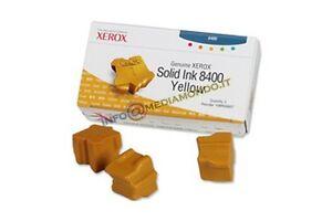 INCHIOSTRO SOLIDO ORIGINALE XEROX 108R00607 - GIALLO
