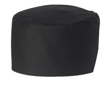 Chef Designs Caps Unisex Black Skull Cap Chef Hat Hp70Bk Medium 79259
