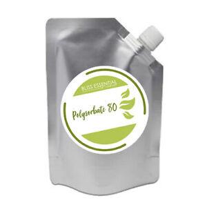 Polysorbate 80 Emulsifier Solubiliser  (Cosmetic Grade) Tween 80   DIY cosmetics