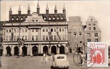 Maximum Card Maximumkarte Germany (7)Postal Card  ARCHITECTURE  Rostock