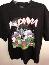 REDMAN RED GONE WILD Rap T Shirt Large Hip Hop Method Man Wu Tang EUC
