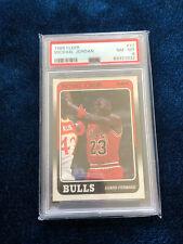 1988 Fleer Basketball Michael Jordan #17 PSA 8 NM-MT
