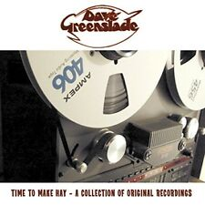 DAVE GREENSLADE - TIME TO MAKE HAY-A COLLECTION RECORDINGS  CD NEW+