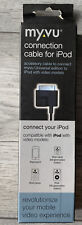More details for myvu ipod cable connector for video accessory glasses plug adapter iphone 4 uk