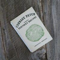 Vintage Kentucky Cookbook Cabbage Patch Settlement Louisville 1956 Famous Recipe