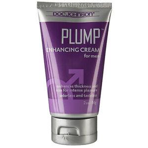 56g Doc Johnson Plump Penis Enhancement Thickening Cream Thicker Bigger Pump