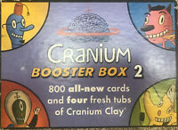 Cranium Booster Box 2 800 NEW SEALED Cards 2 Tubs Clay Family Teen Party Game